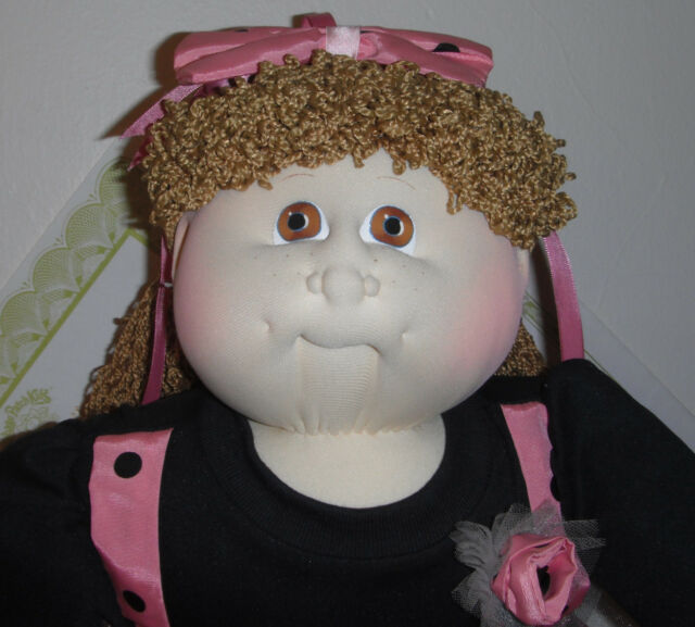 Cabbage Patch Xavier Roberts Soft Sculpture 1990 PERIDOT Ed GALENA JONI w/papers