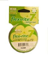 Beading Wire 7 Strand .014 Clear 30 Ft. Flex-rite