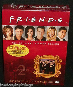 Friends-DVD-Second-Season-2-Set-NEW-Sealed-Unopened