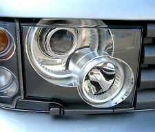 Range Rover L322 front head Light Lamp Lens Glass Right hand offside O/S+ rubber