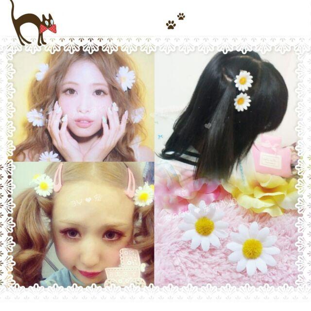 Super Cute Lolita AMO Daisy Hair Clip Bellis Hairpin Harajuku Hair Decoration