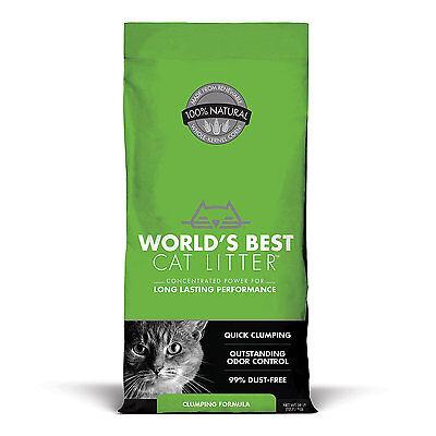 World's Best Cat Litter Clumping Formula, 28 lbs.
