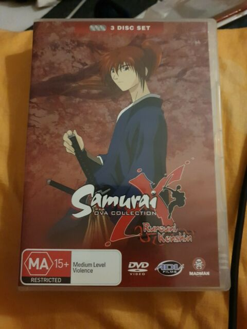 Samurai X - Ova Collection dvd, rare, like new, pal, region 4, oop
