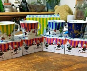 Moomin-Mug-Tea-Cup-Limited-Edition-ONLY-KFC-Japan-Set-of-4-Complete-VERY-RARE