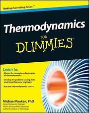 Thermodynamics For Dummies by Pauken, Mike