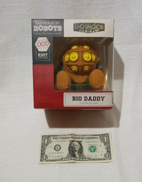 Wow! Bioshock Big Daddy Vinyl Figure 005 Knit Series By Robots Loot Crate New