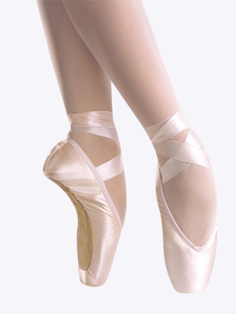 NEW Gaynor Minden custom order Ballet Pointe Shoes Size CL-7.5 M4SDH Suede Tips