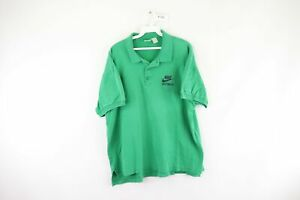 Vintage-80s-Nike-Mens-Large-Spell-Out-Just-Do-It-Short-Sleeve-Polo-Shirt-Green