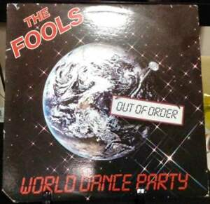 THE-FOOLS-World-Dance-Party-Album-Released-1985-Vinyl-Record-Collection-USA