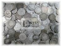 $5 Face Value - Barber Dimes U.S. 90% Silver Lot - 50 Coin Roll