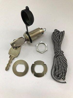 Schutzkappe schwarz für Torantrieb Garagentor Antrieb Notentriegelung von außen