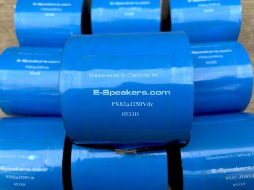 Claritycap Clarity Film Capacitor PX 82 uF 250Vdc Audio Grade Clarity cap