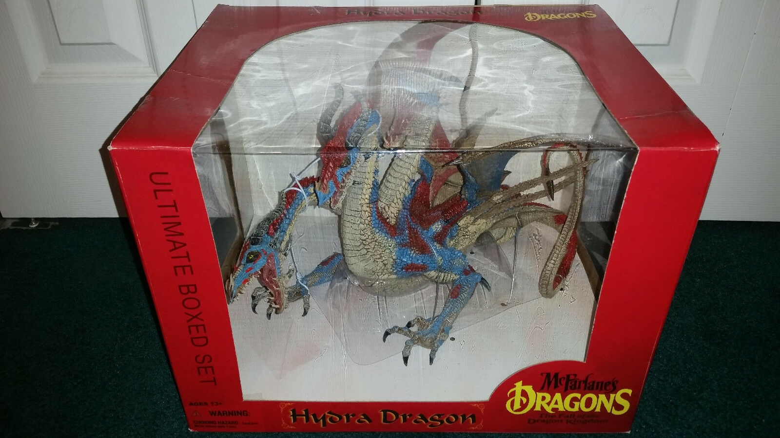 Hydra Dragon Ultimate Boxed Set Dragons Series  7 Mcfarlane Toys 3 HEADS  MISP  édition limitée