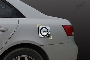 Details About New Chrome Fuel Gas Door Cover Molding Trim K147 For Hyundai Sonata 06 10