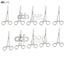 10 Kelly Locking Hemostat Forceps 55 Straight Surgical