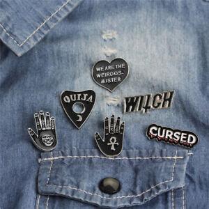 6PCS-Set-Punk-Enamel-Brooch-Pin-Gift-Shirt-Collar-Lapel-Corsage-Pin-JewelryG9A