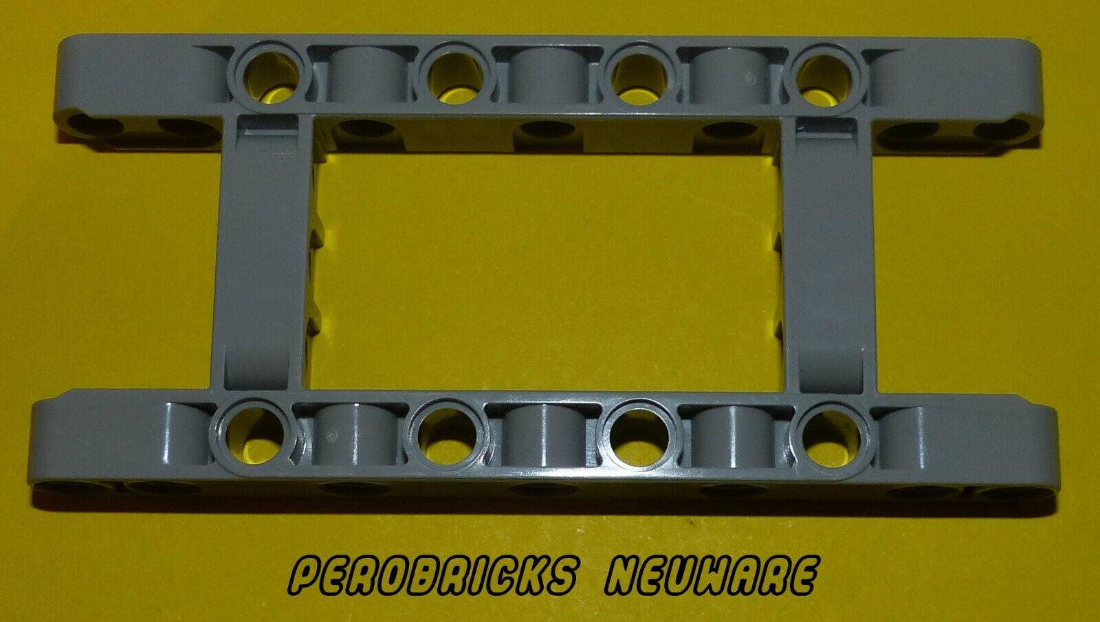 Lego Technic Technik Liftarm 5 x 11 Open Center Frame Thick hellgrau #64178 NEU