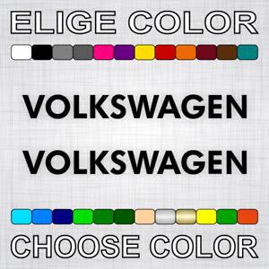 PEGATINAS-VOLKSWAGEN-X2-vinilos-coche-autocollant-aufkleber-adesivi-sticker-auto