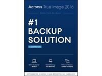 Acronis True Image 2016 Software for 1 PC