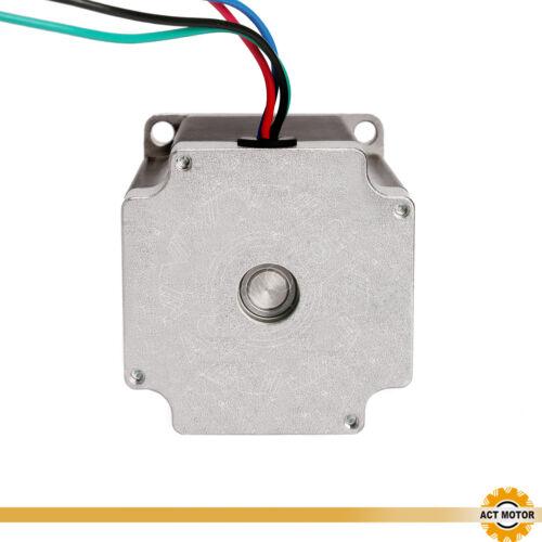 3PCS Nema23 Schrittmotor 23HS8430D8P1-5 3A 76mm 270oz φ8mm D-Shaft 1.9Nm Bipolar
