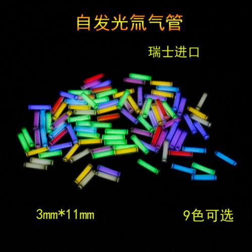 1PC tritium Gas tube signal lamp Light Self luminous fluorescent