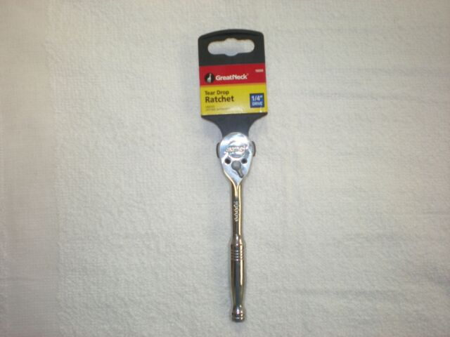 "Great Neck 3//8/"" Drive Tear Drop Ratchet 28000"