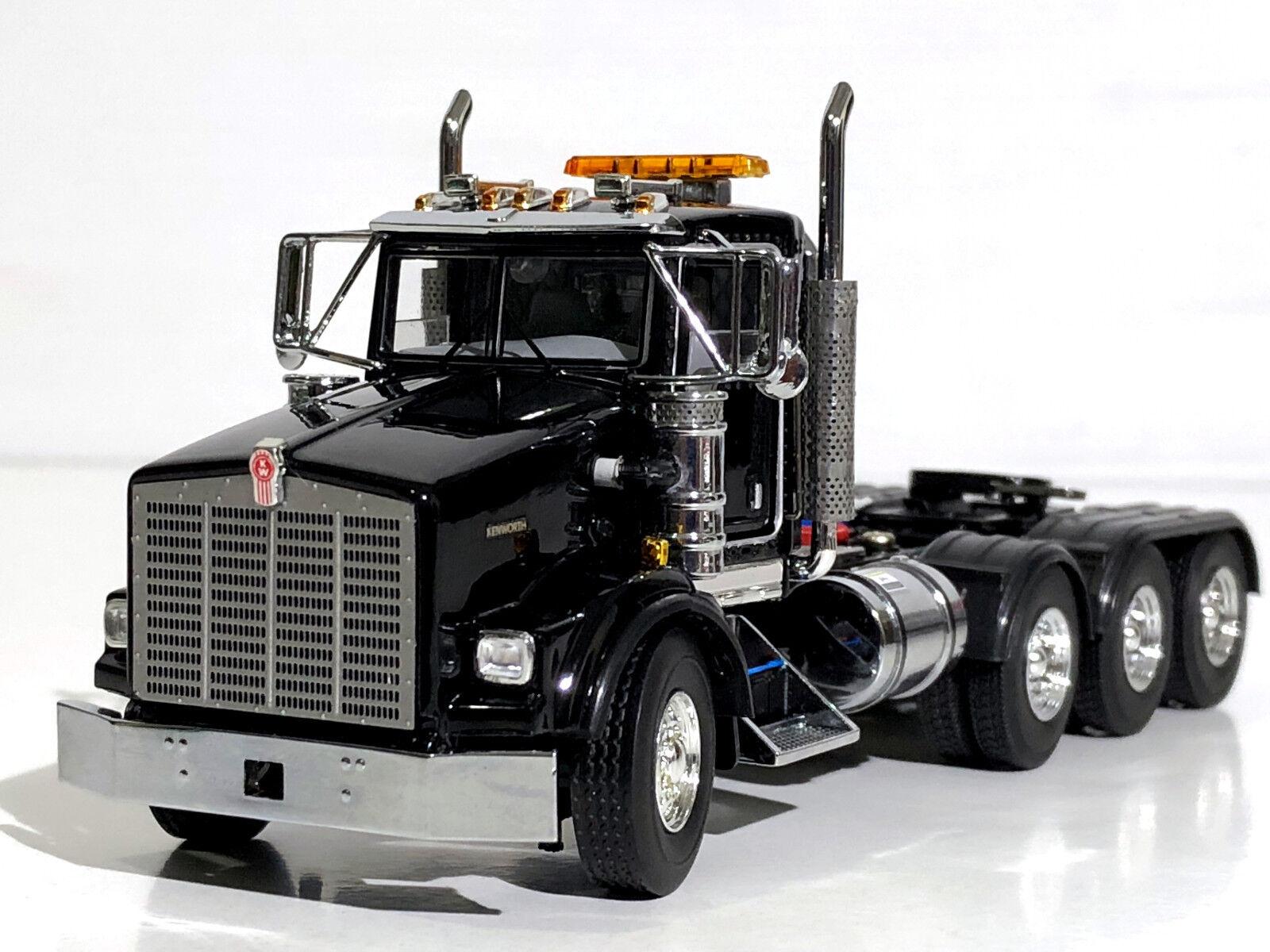 WSI camión Modelos, Kenworth T800 8x4 nero, un solo camión, escala 1 50