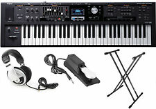 "Roland VR-09 ""V-Combo"" 61-Note Keyboard Bundle w/FREE Headphones,Stand,Peda"
