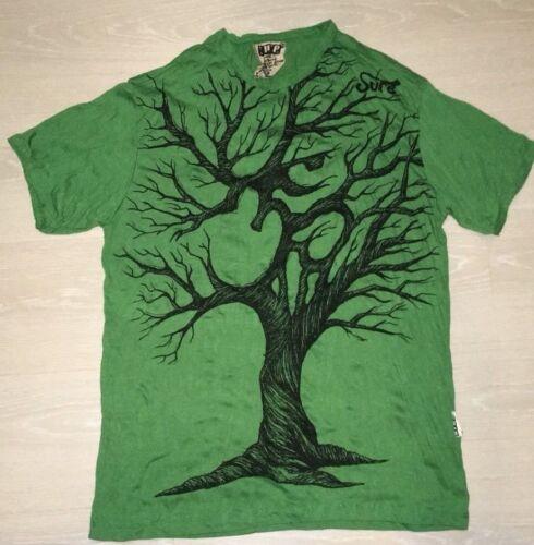 PFC Hommes T Shirt Picasso Dada Art Rock Hippie visages Tribe Maya Hobo Boho M arbre