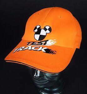 c647c317815 Youth Cap Mickey Mouse Test Track Orange Walt Disney World Epcot Hat ...
