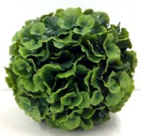 Pvc Galax Leaf Kissing Ball/orb. Green. 8. Great For: Basket, Arrangement, Etc