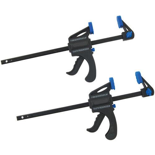 Qté 2-150 mm avec une seule main Quick Release Trigger G Clamps-Épandeur