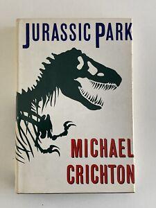 Michael Crichton Jurassic Park 1st Ed 1st Print  HBDJ Clean Copy Free Shipping