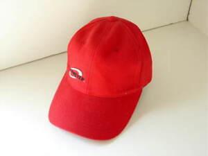 OBERMEYER-Red-Cotton-Flexfit-Ball-Hat-Cap-Mens-Size-Small-Medium-NEW-NWT