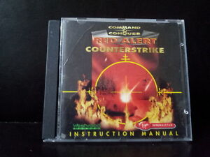Command & Conquer Red Alert Counterstrike Westwood Studios EA PC Game CD ROM