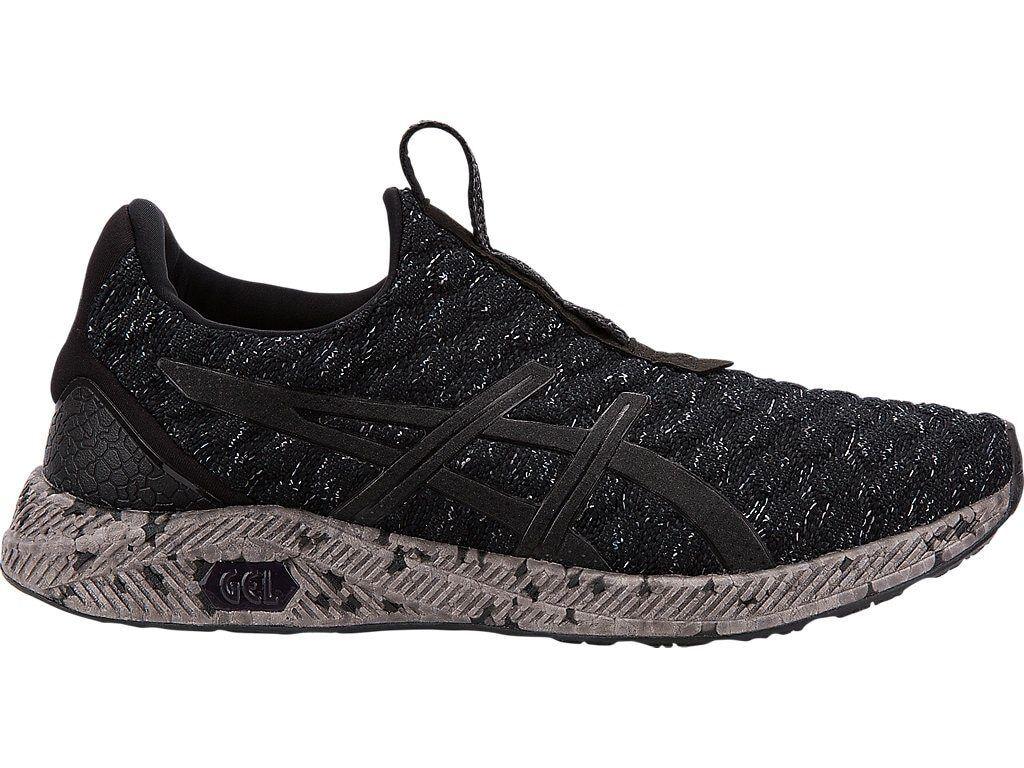 Asics Hyper-GEL KENZEN Black Carbon Men's Running Casual shoes Size 13