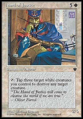 ▼▲▼ Hand of Justice FALLEN EMPIRES #10 English Magic MTG
