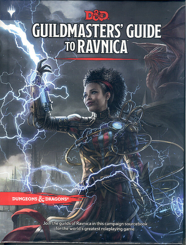 D&D 5  Guildmasters Guide to Ravnica , Englisch English, Neu New