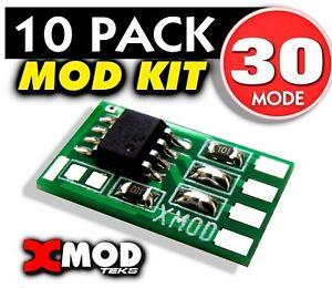 Details about XBOX ONE X, S, ELITE ORIGINAL MOD CHIP RAPID FIRE CONTROLLER  XMOD 30 MODE,LOT 10
