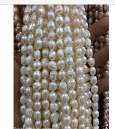 """7-9mm Freshwater Cultured Pearl Loose Beads 13/"""""""