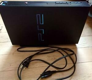 PS2 PlayStation2 operating product black Operation confirmed vintage from japan