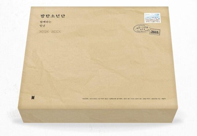 BTS - 2018 SEASON'S GREETINGS Desk Calendar+Diary+MakingDVD+Postcards+Free Gift