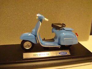 Vespa 150 Cc 1970 Blu 1:18 WELLY
