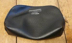 The White Company London British Airways Black Wash Bag/make Up Bag