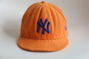 New Era 59Fifty Baseball Cap NY New York Yankees Mütze Orange Gr.53.9/ 54 6 3/4