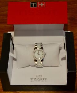 Tissot-watche-Ladies-Stainless-steel-Links-bracelet-Analogue-quartz
