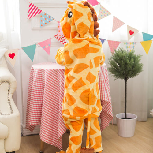 2019 hot sale warm children adult cute animal pajamas Cosplay pajamas slippers