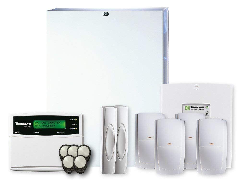 Texecom Premier Elite Híbrido 48 Panel KIT-0005 zona 32 Kit alarma Expansor Wi-fi