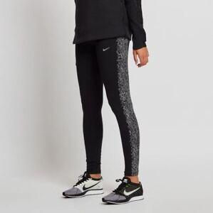 914b3e56aa3126 Nike Womens Power Flash Epic Running Tights Size XS Black 839624-010 ...