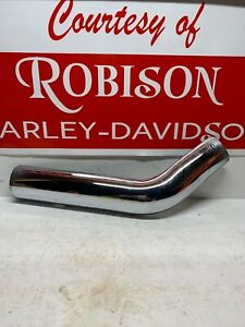 NOS-OEM-Harley-Davidson-65712-86-Chrome-Heat-Shield-Rear-XL-Sportster